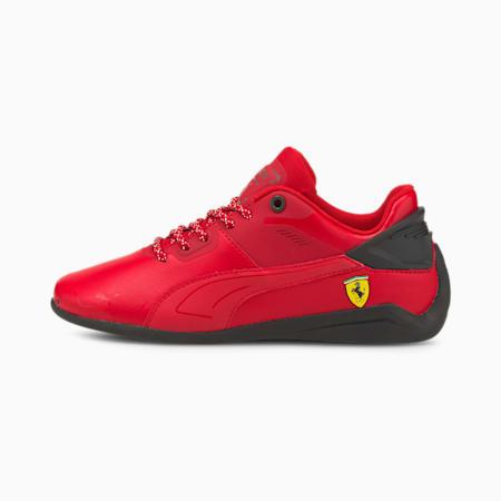 Zapatos deportivos Scuderia Ferrari Drift Cat Delta para jóvenes, Rosso Corsa-Puma Black, pequeño