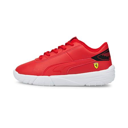 Scuderia Ferrari Drift Cat Delta Kids' Motorsport Shoes, Rosso Corsa-Puma Black, small-GBR