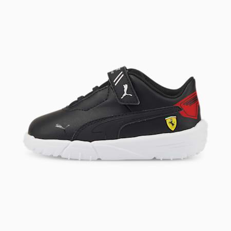 Scuderia Ferrari Drift Cat Delta Babies' Motorsport Shoes, Puma Black-Rosso Corsa, small-SEA
