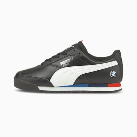 Zapatos BMW M Motorsport Roma Via Motorsport JR, Puma Black-Puma White, pequeño