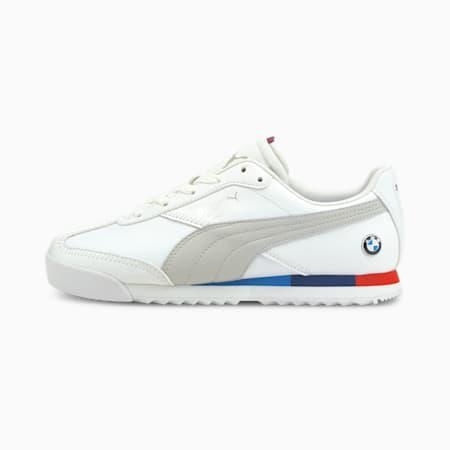Zapatos BMW M Motorsport Roma Via Motorsport JR, Puma White-Gray Violet, pequeño