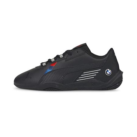 Zapatos de automovilismo BMW M Motorsport R-Cat Machina JR, Puma Black-Puma Black, pequeño
