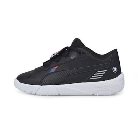 BMW M Motorsport R-Cat Machina Kid's Shoes, Puma Black-Puma White, small-IND