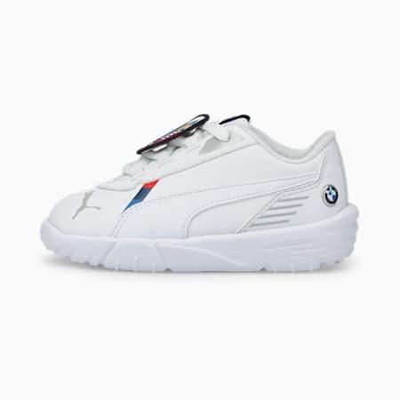 BMW M Motorsport R-Cat Machina Babies' Motorsport Shoes, Puma White-Puma White, small