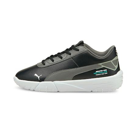 Mercedes F1 Drift Cat Delta V Kids' Motorsport Shoes, Puma Black-Mercedes Team Silver, small-GBR
