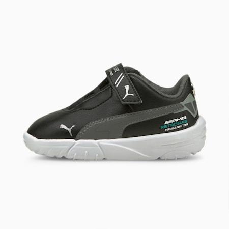Chaussures de sport automobile Mercedes F1 Drift Cat Delta bébé, Puma Black-Mercedes Team Silver, small
