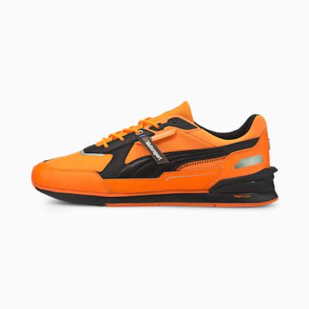 BMW M Motorsport Low Racer Unisex Shoes, Orange Glow-Puma Black, small-IND