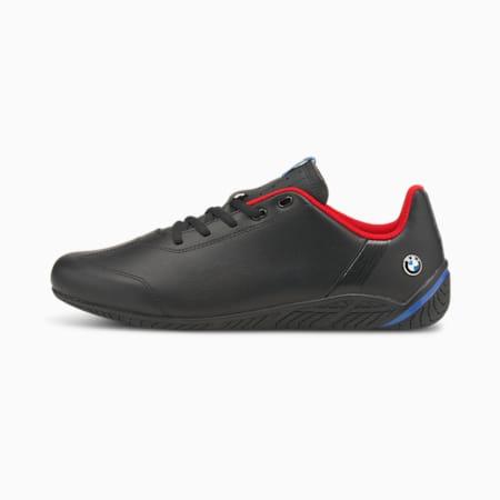 BMW M Motorsport Cat Unisex Shoes, Puma Black-Puma Black-Fiery Red, small-IND