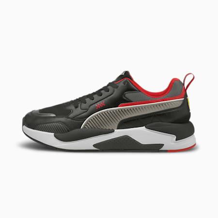 Ferrari Race X-Ray 2 Unisex Shoes, Puma Black-Smoked Pearl, small-IND