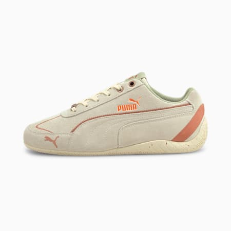 Zapatos deportivos Speedcat Metallic Remix para mujer, Whisper White-Copper, pequeño