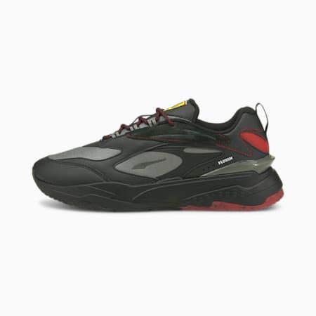 Ferrari RS-Fast Unisex Shoes, Puma Black-Rosso Corsa, small-IND