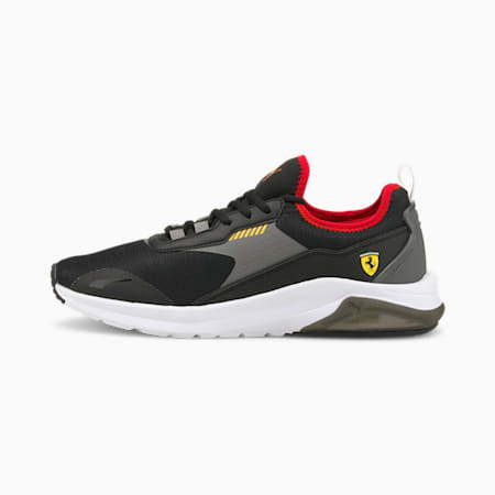 Ferrari Electron E Pro Unisex Shoes, Puma Black-Smoked Pearl, small-IND