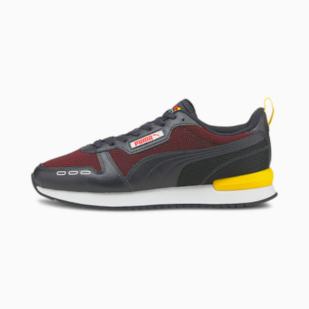 Red Bull Racing R78 Unisex Shoes, NIGHT SKY-Chinese Red, small-IND