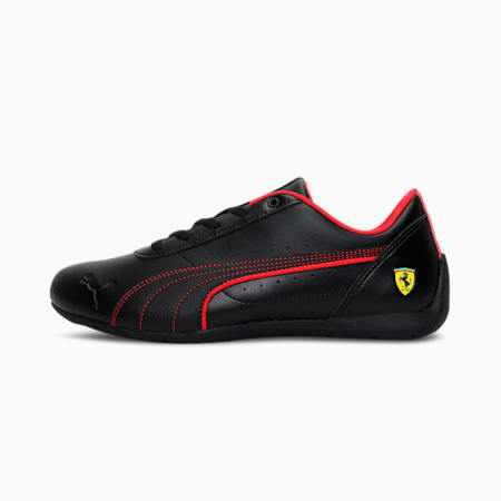 Ferrari Neo Cat Unisex Shoes, Puma Black-Puma Black, small-IND
