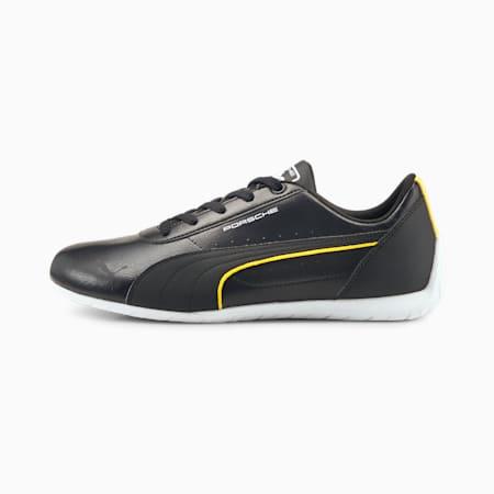 Porsche Legacy Neo Cat Unisex Shoes, Puma Black-Lemon Chrome, small-IND