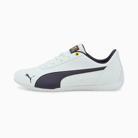 Red Bull Racing Neo Cat Unisex Shoes, Puma White-NIGHT SKY, small-IND