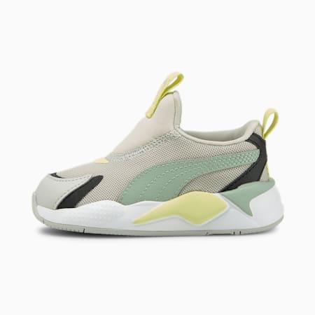 Zapatos deportivos sin cordones RS-X³ para bebé, Gray Violet-Jadeite, pequeño