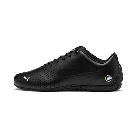BMW MMS Drift Cat 5 Ultra II Youth Shoes, Puma Black-Puma Black, small-IND