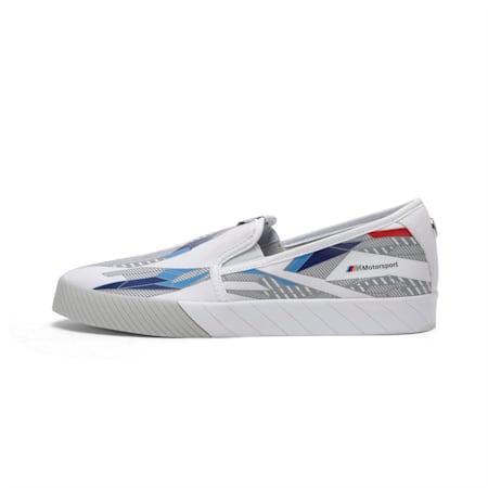 BMW M Motorsport Slip-On Track Shoes, Puma White-Gray Violet, small-IND