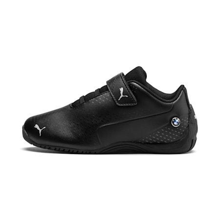 BMW M Motorsport Drift Cat 5 Ultra II Little Kids' Shoes, Puma Black-Puma Black, small