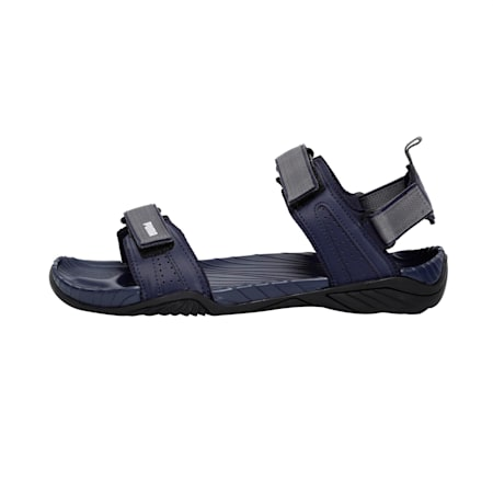 Aqua Cross IDP Men's sandals, Peacoat-QUIETSHADE-White-Blk, small-IND
