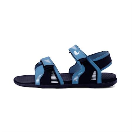 Croatia IDP Men's Sandals, Puma Black-Bluestone-White, small-IND