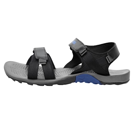 Force IDP Men's Sports Sandals, Dark Shadow-Puma Black, small-IND