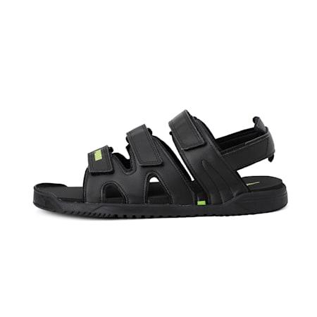 Glare IDP  Sandals, Puma Black-Limepunch, small-IND