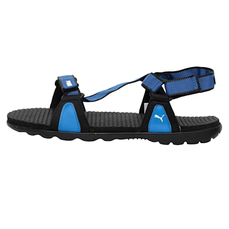 Jordy IDP Men's sandals, Puma Black-Royal Blue, small-IND