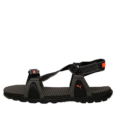 Jordy IDP Men's Sports Sandals, Puma Black-Dark Shadow, small-IND