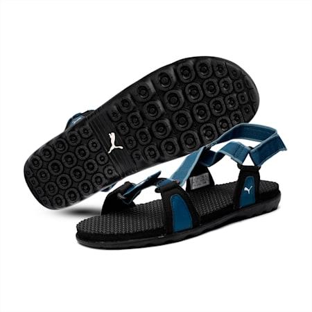 Jordy IDP Men's sandals, GibraltarSea-Bluestone-Black, small-IND