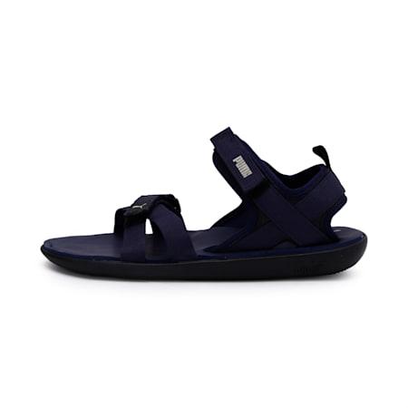 Pebble II IDP Sandals, Peacoat-Overcast-Puma Black, small-IND