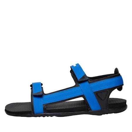 Prego IDP Women's Sandals, Black-Indigo Bunting-White, small-IND