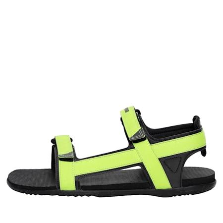 Prego IDP Women's sandals, Asphalt-Limepunch-Puma Black, small-IND