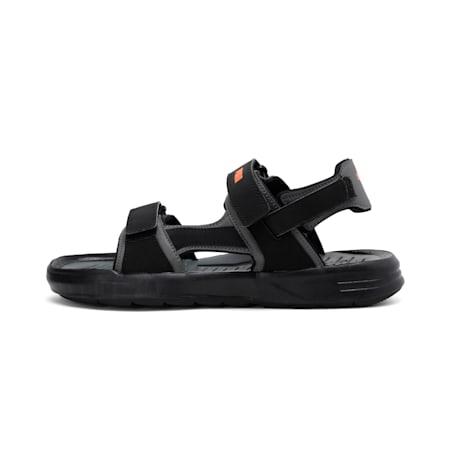 Stance Core IDP Men's Sandals, Black-DShadow-Vibrant Orange, small-IND