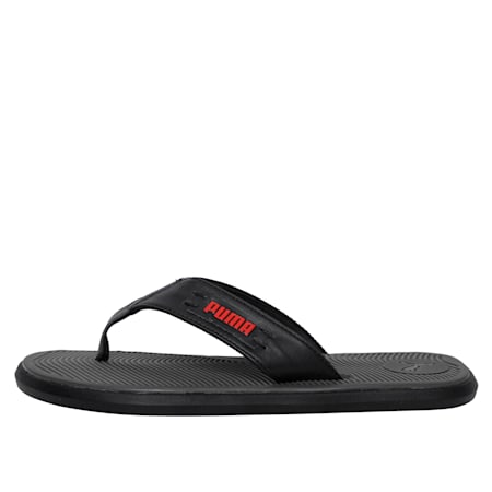 Venice IDP Men's Sandals, Dark Shadow-High Risk Red, small-IND