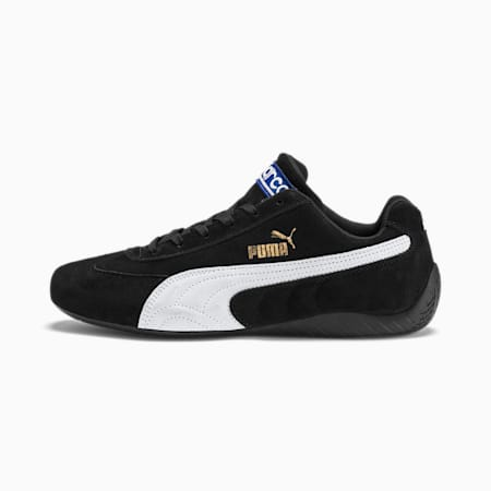 SpeedCat Sparco Trainers, Puma Black-Puma White, small
