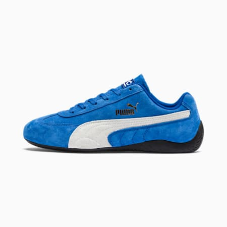 SpeedCat Sparco Sneaker, Strong Blue-Puma White, small