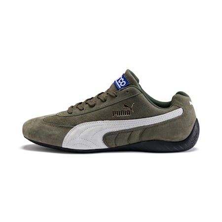 SpeedCat Sparco Trainers, Forest Night-Puma White, small