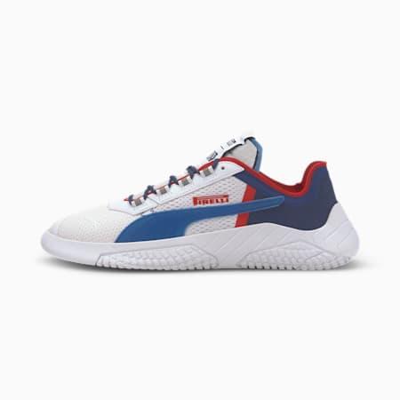 Replicat-X Pirelli Motorsport Shoes, White-Blueprint-High Risk Rd, small