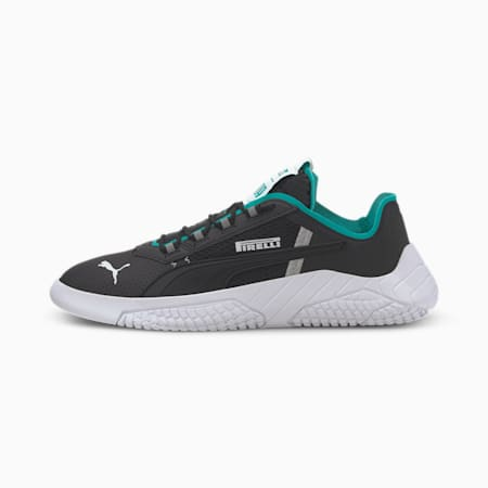 Replicat-X Pirelli Motorsport Shoes, Black-Spectra Green-White, small