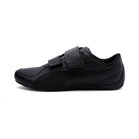 Drift Cat 5 Ultra Shoes, Puma Black-Puma Black, small-IND