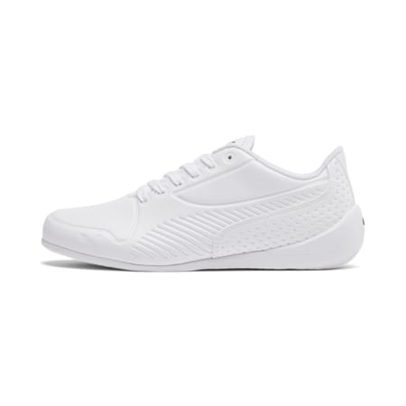 Drift Cat 7S Ultra Youth Shoes, Puma White-Puma White, small-IND