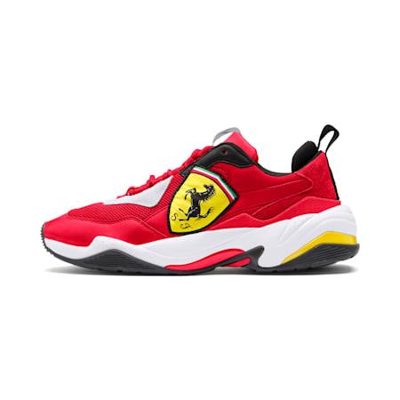Ferrari Thunder Trainers, Rosso Corsa-Puma White, small-SEA