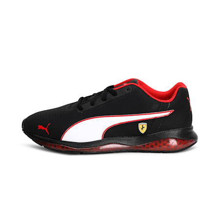 SF Cell Ultimate Shoes, Black-White-Rosso Corsa, small-IND