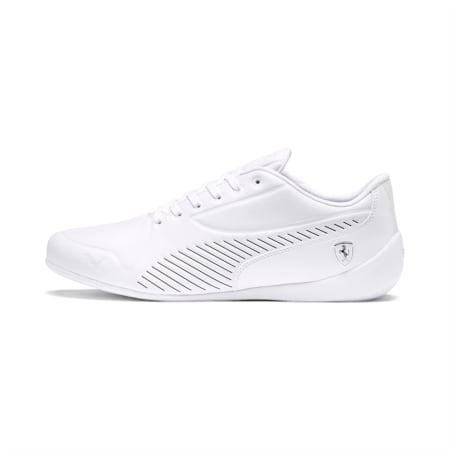 Scuderia Ferrari Drift Cat 7S Ultra LS Men's Shoes, Puma White-Pastel Parchment, small