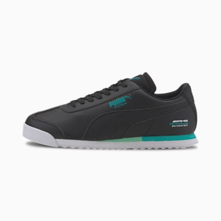 Mercedes Roma Shoes, Puma Black-Puma Black, small-IND