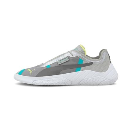 Mercedes Repliicat-X Unisex Shoes, Mrcds Tm Slvr-Wht-Spctra Grn, small-IND