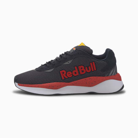 Redbull Racing Pure Unisex Shoes, NIGHT SKY-Chinese Red-White, small-IND