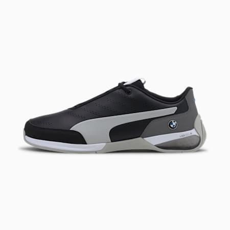 BMW M Motorsport Kart Cat X Men's Motorsport Shoes, Puma Black-Gray Violet, small